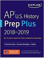 AP U.S. History Prep Plus 2018-2019: 3 Practice Tests + Study Plans + Targeted Review & Practice + Online