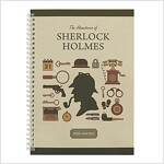 [Born to Read] Spiral Notebook - Sherlock : Icon