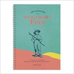 [Born to Read] Spiral Notebook - The Adventures of Huckleberry Finn