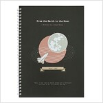 [Born to Read] Spiral Notebook - From the Earth to the Moon
