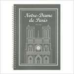 [Born to Read] Spiral Notebook - Notre Dame de Paris