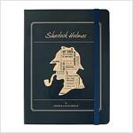 [Born to Read] Hardcover Notebook - Sherlock : Navy