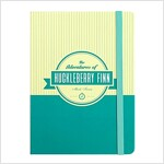 [Born to Read] Hardcover Notebook - The Adventures of Huckleberry Finn