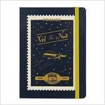 [Born to Read] Hardcover Notebook - Vol de Nuit