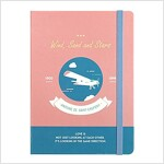 [Born to Read] Hardcover Notebook - Wind, Sand and Stars