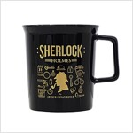 [Born to Read] Mug - Sherlock : Black