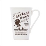 [Born to Read] Eco Mug - Sherlock : White