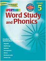 Spectrum Word Study and Phonics: Grade 5