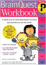 Brain Quest Workbook: Pre-K [With Stickers]