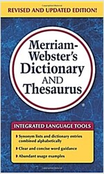 Merriam-Webster\'s Dictionary and Thesaurus