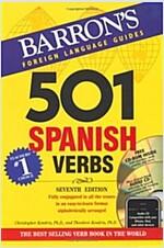 Barron\'s 501 Spanish Verbs [With CDROM and CD (Audio)]