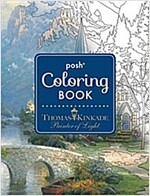 Posh Adult Coloring Book: Thomas Kinkade Designs for Inspiration & Relaxation, Volume 14